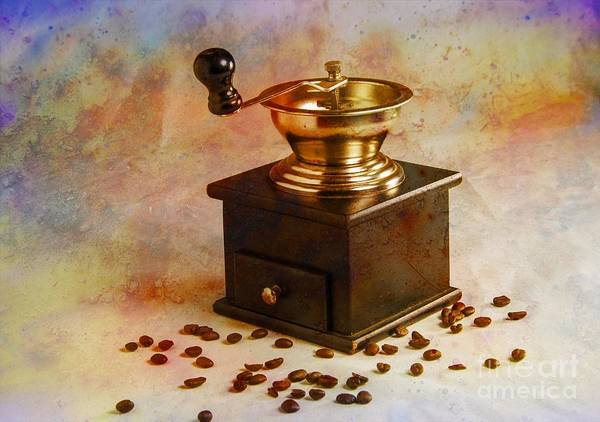 Wall Art - Photograph - Coffee Grinder by Donald Davis
