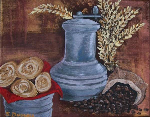 Painting - Coffee Grinder by Sharon Duguay