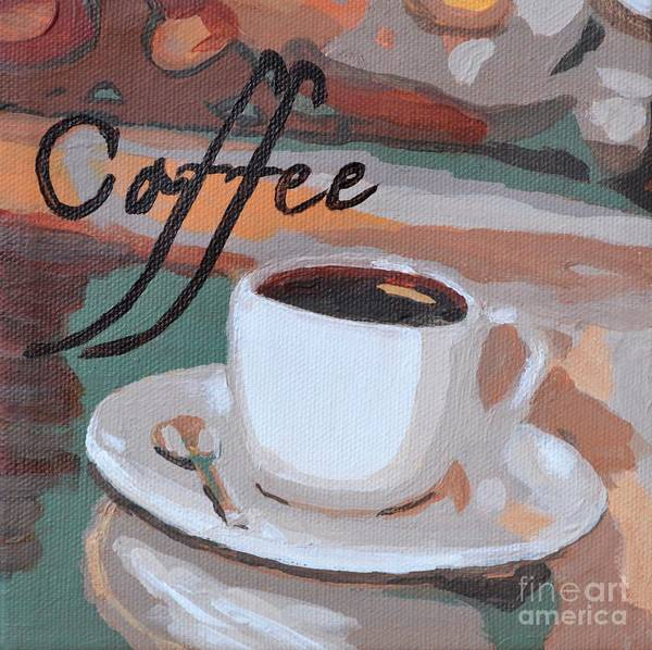 Painting - Coffee by Laura Toth