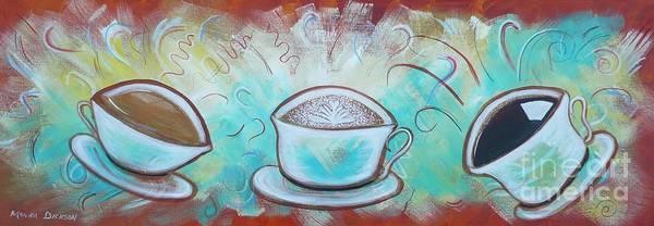 Painting - Coffee by Monika Shepherdson