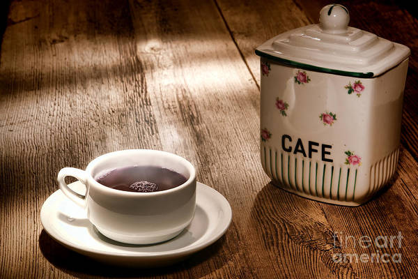 Photograph - Coffee by Olivier Le Queinec