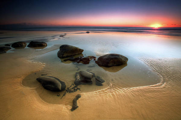 Horizons Photograph - Coffee Rocks by Mel Brackstone