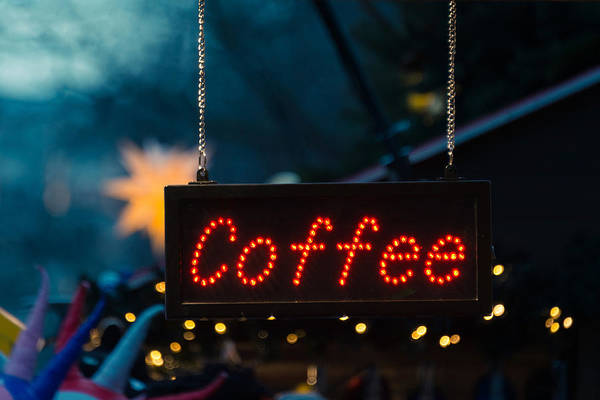 Beverage Photograph - Coffee Sign by Dutourdumonde Photography