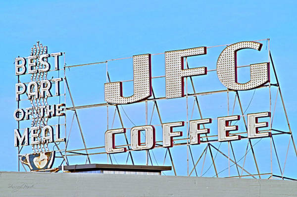 Photograph - Coffee Sign by Sharon Popek