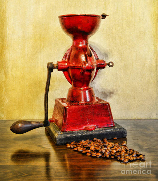 Wall Art - Photograph - Coffee The Morning Grind by Paul Ward