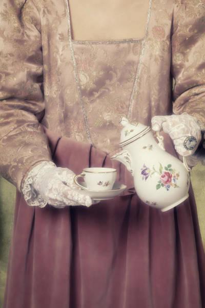Jane Austen Wall Art - Photograph - Coffee Time by Joana Kruse