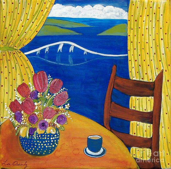 Painting - Coffee With A View by Lee Owenby
