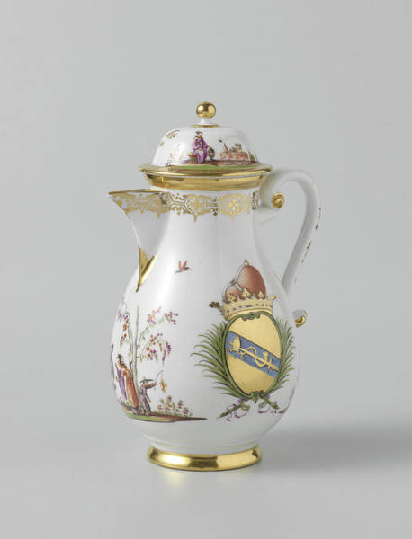 Lid Painting - Coffeepot With Lid by Quint Lox