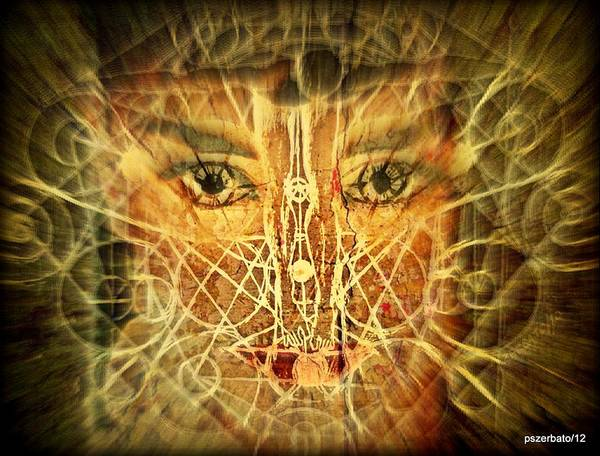 Subjective Digital Art - Cognitive Processes Which Emanate Of Every Being And Affect The World Around Us by Paulo Zerbato