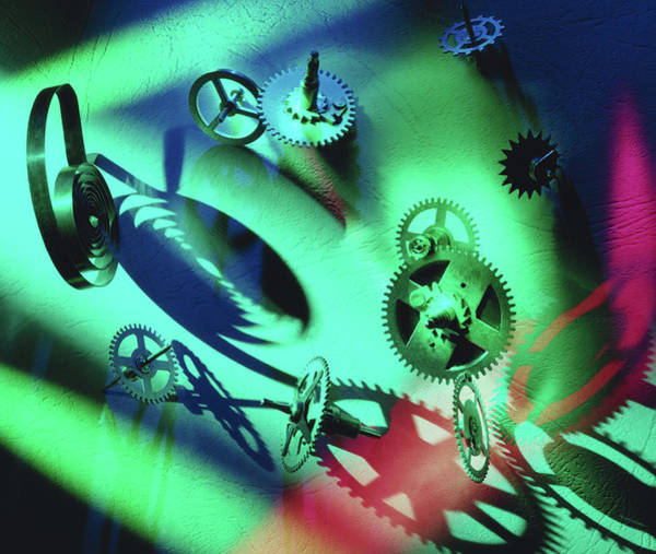 Technological Wall Art - Photograph - Cogs by Steve Allen/science Photo Library