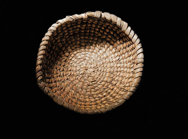 Wall Art - Photograph - Coiled Basket Cowboy Cave 7,000 Bc by Millard H. Sharp