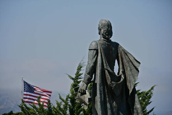 Photograph - Old Glory Columbus by Steven Lapkin