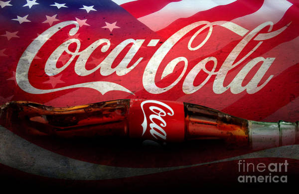 Wall Art - Mixed Media - Coke Ads Life by Jon Neidert