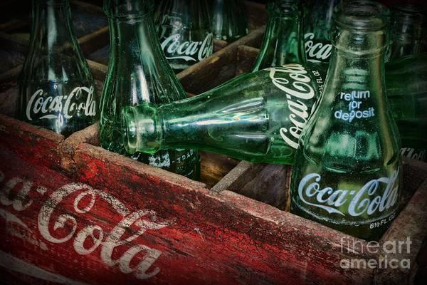 Sweeties Photograph - Coke Return For Deposit by Paul Ward