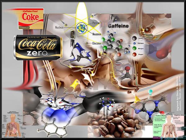 Digital Art - Cokezeroscape '14 by Glenn Bautista