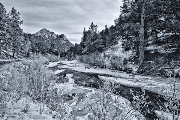 Photograph - Cold Colorado Creek by Darren  White