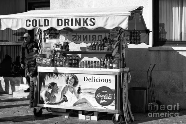 Photograph - Cold Drinks In Venice by John Rizzuto