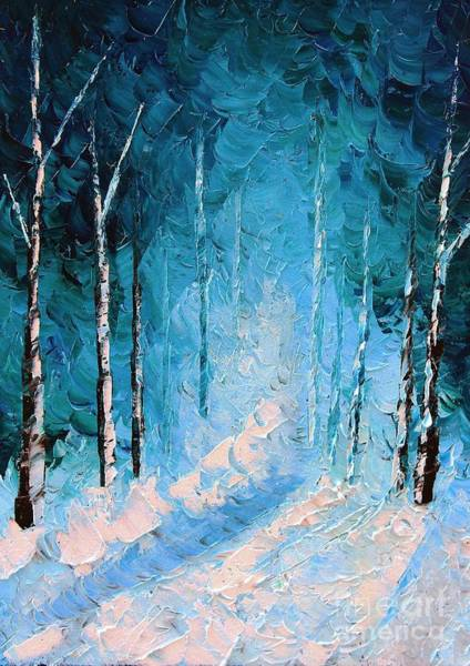 Frost Bank Painting - Cold Question by Steven Lebron Langston