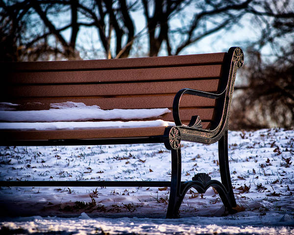 Photograph - Cold Seat In Riverside Park by Bill Swartwout Photography