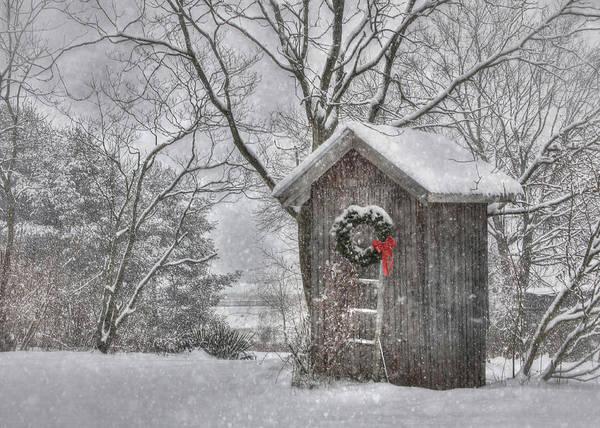 Snowflake Photograph - Cold Seat by Lori Deiter