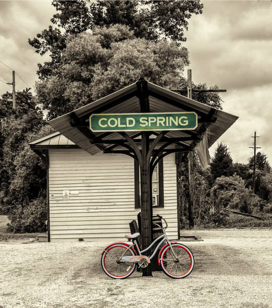 Photograph - Cold Spring Village Train Station - Cape May New Jersey by Bill Cannon