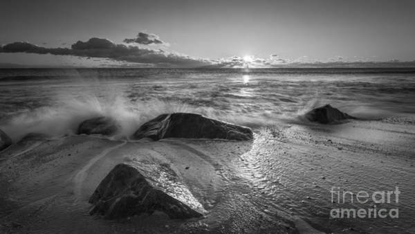 Michael Photograph - Cold Sunrise Bw by Michael Ver Sprill