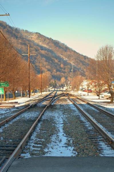 Photograph - Cold Tracks Through Montgomery by Paulette B Wright
