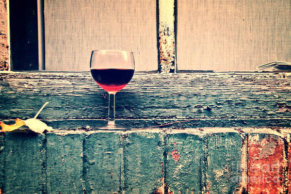 Wall Art - Photograph - Cold Wine by Delphimages Photo Creations