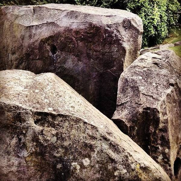Ancient Photograph - Coldrum Long Barrow  by Nic Squirrell