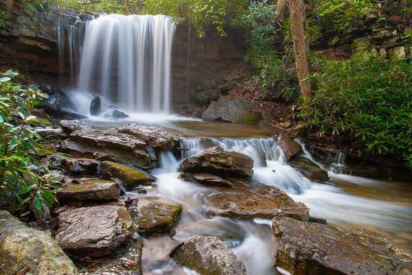Somerset County Photograph - Cole Run Falls II by Clare Kaczmarek