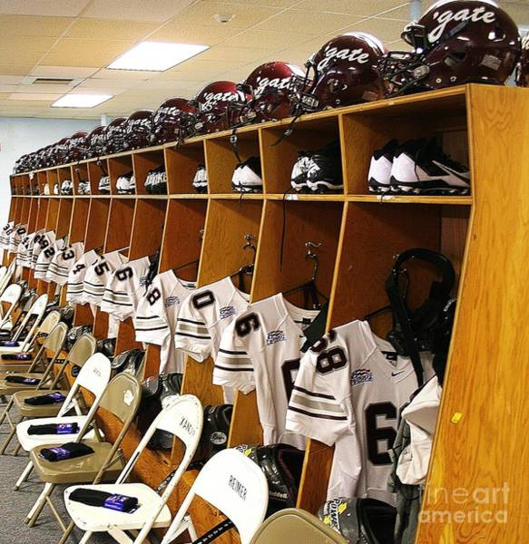 Colgate Wall Art - Photograph - Colgate Football 2 by Ronnie Glover