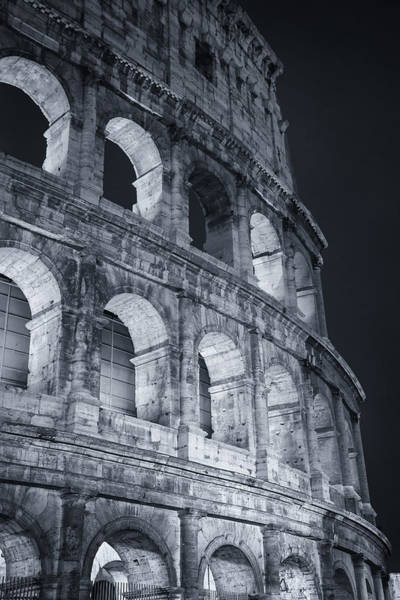 Wall Art - Photograph - Colosseum Before Dawn by Joan Carroll