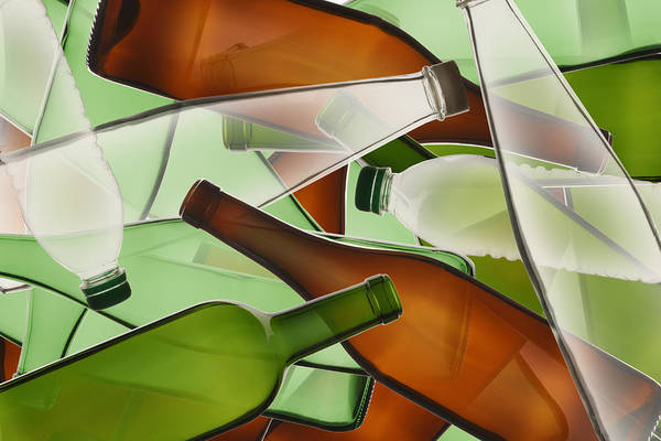Messier Object Photograph - Collage Of Bottles by Paul Taylor