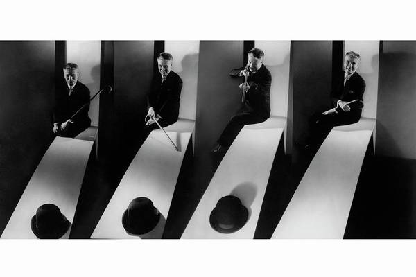 Middle Aged Photograph - Collage Of Charlie Chaplin by Edward Steichen