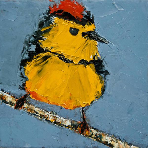 Painting - Collard Redstart by Jani Freimann