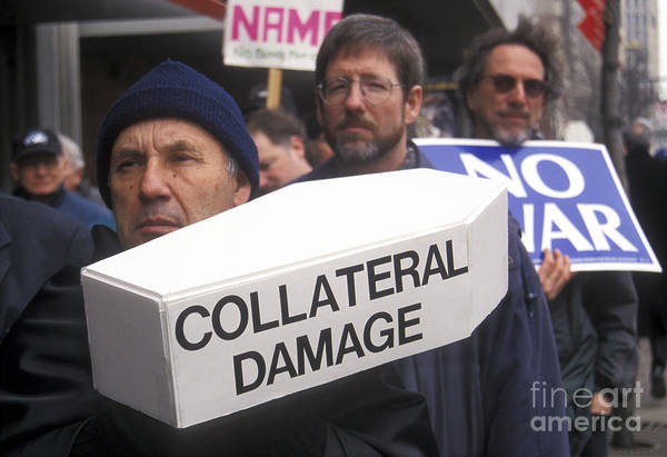Photograph - Collateral Damage by Jim West