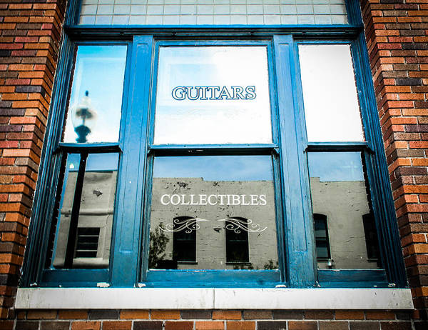 Photograph - Reflecting Collecting by Jeff Mize