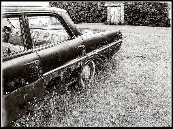 Photograph - Laurentian Parked For Good Collector Car by Roxy Hurtubise