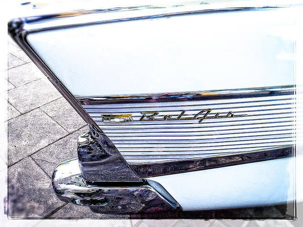 Photograph - Collector Car The Belair by Roxy Hurtubise