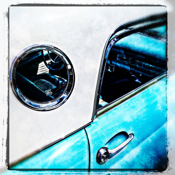Photograph - Drivers Seat Thunderbird Collector Car by Roxy Hurtubise