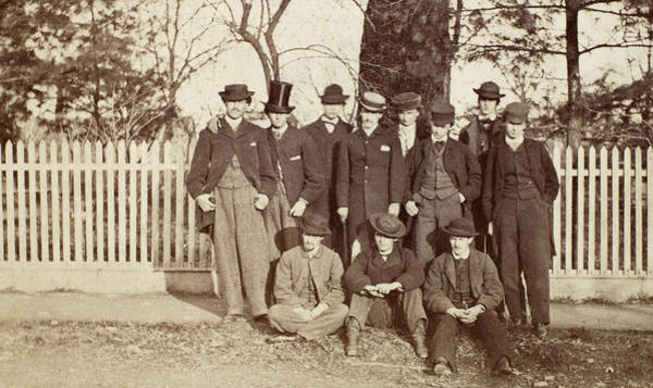 Membership Photograph - College Club, C1866 by Granger