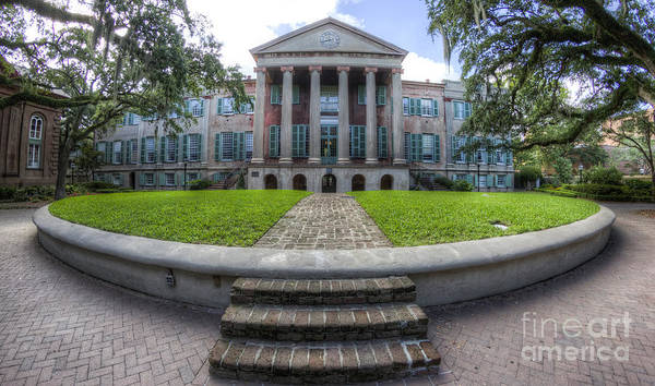 Photograph - College Of Charleston Randolph Hall Cistern by Dustin K Ryan