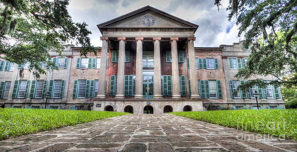 Photograph - College Of Charleston Randolph Hall by Dustin K Ryan