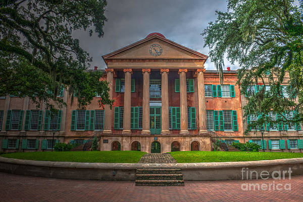 Photograph - College Of Charleston Randolph Hall by Dale Powell
