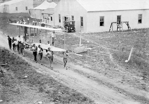 Model A Photograph - College Park Airfield by Library Of Congress