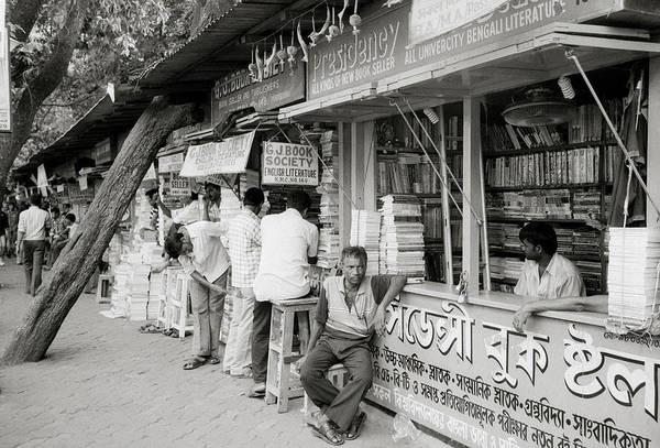 Photograph - College Street Calcutta  by Shaun Higson