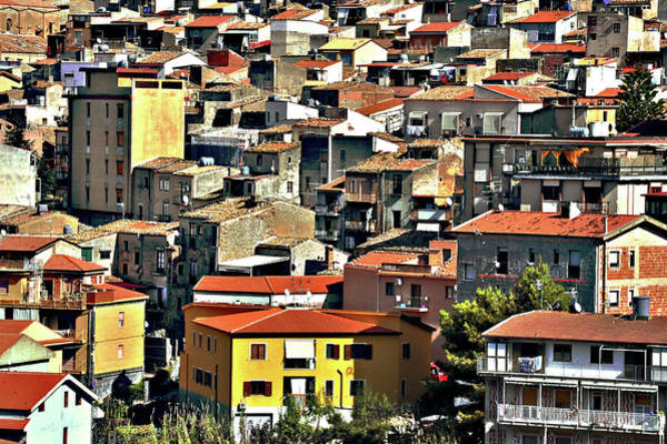 Sicily Photograph - Collesano Blocks by Image Brought To You Through The Eye Of Andrew Parker