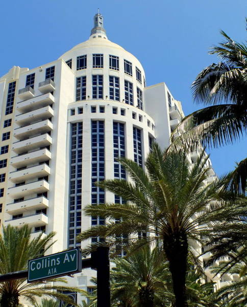 Photograph - Collins Ave by Karen Wiles