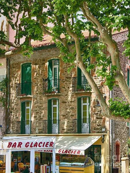 Photograph - Collioure Bar Glacier by Kate McKenna