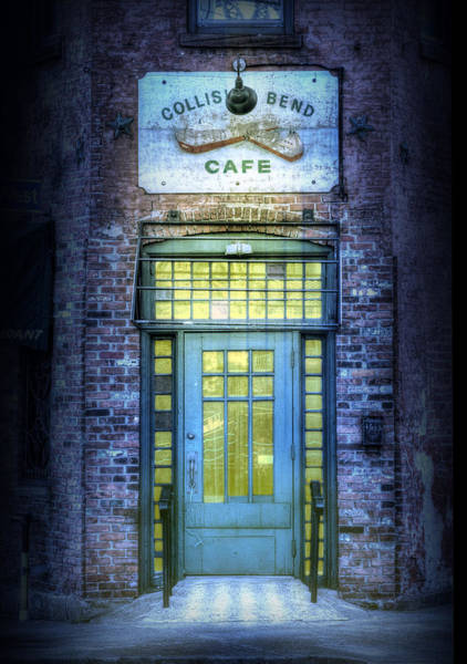 Collision Bend Cafe-cleveland Art Print